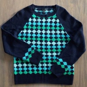 J Crew Diamond Sweater